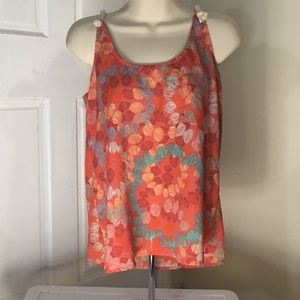 Collective Concepts multi-print tank top